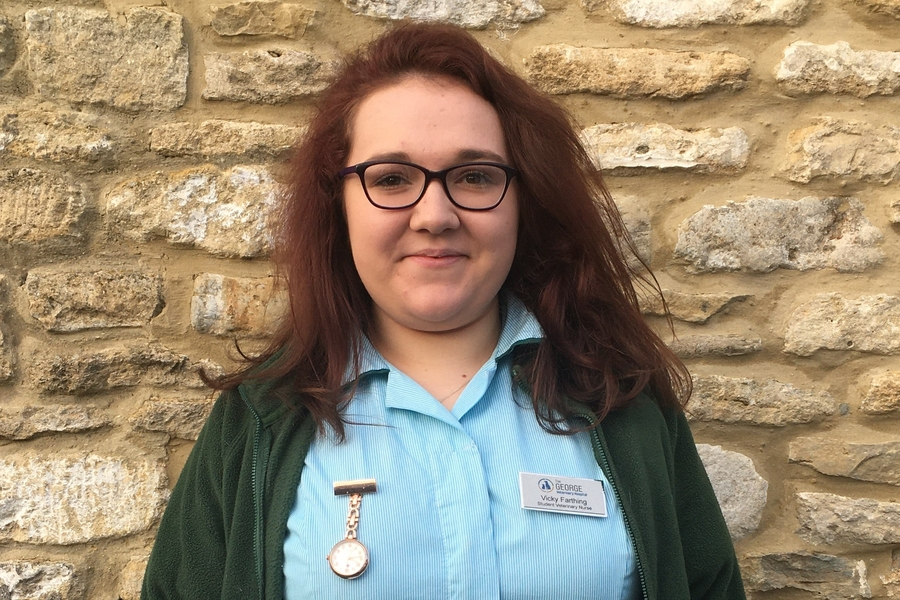 Victoria Farthing - Veterinary Care Assistant
